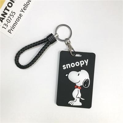 Snoopy + trançado chaveiro Rope