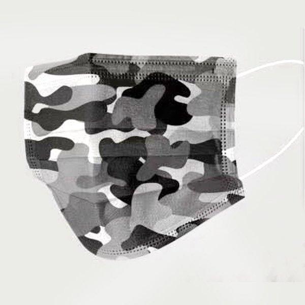 Camuflagem Preto e Branco