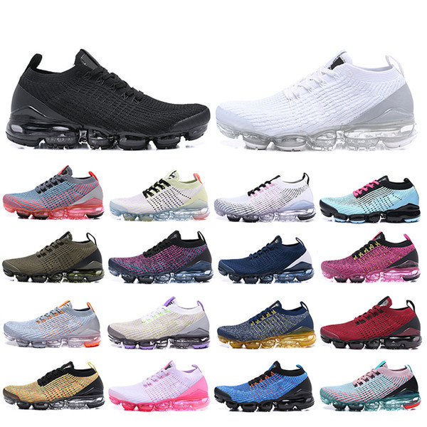 top popular 2020 New 2019 3.0 Noble Red Spruce Aura Running Shoes triple black white dark grey Women Breathable Chaussures sports Mens Trainers Sneakers 2021