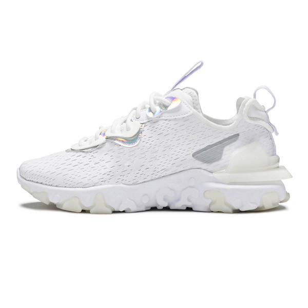 6 White Iridescent