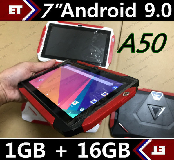 top popular 4colour Kids Brand Tablet PC 7 inch Q98 Quad Core A33 1024*600 HD screen Android 9.0 AllWinner A50 Real 1GB + 16GB with Bluetooth PK Q8 MQ10 2021
