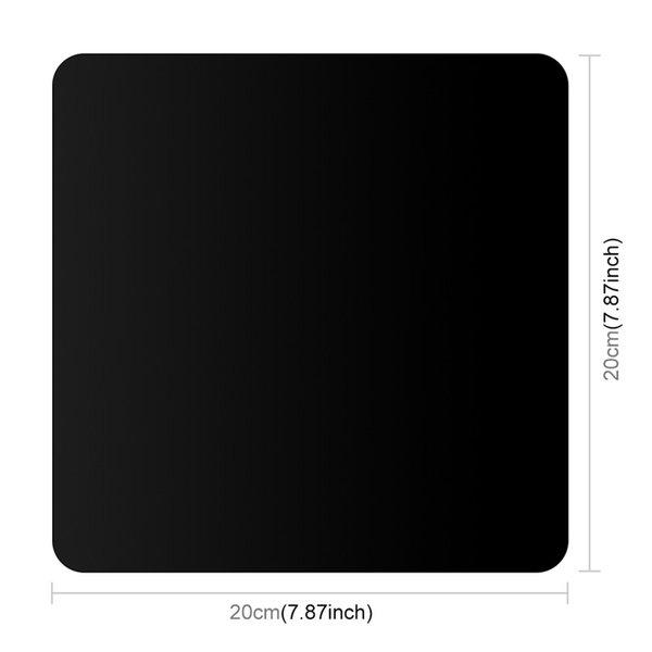 20x20cm черный цвет