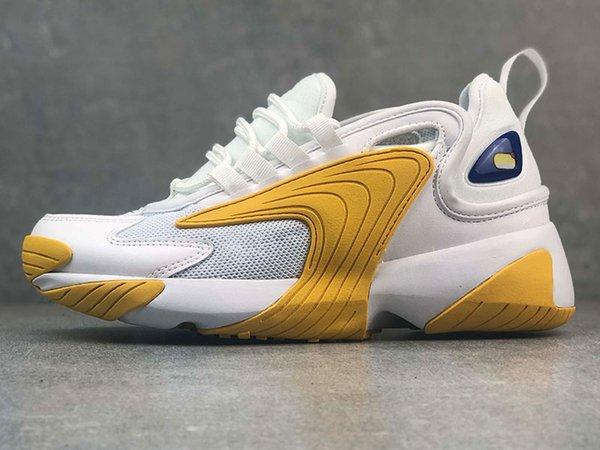 A2 36-40 Branco Amarelo