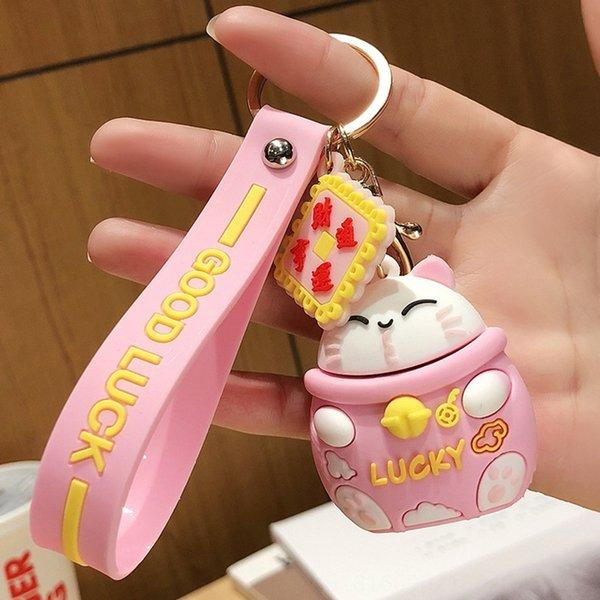 Bolso de OPP color rosa-gato de la fortuna individual packagin