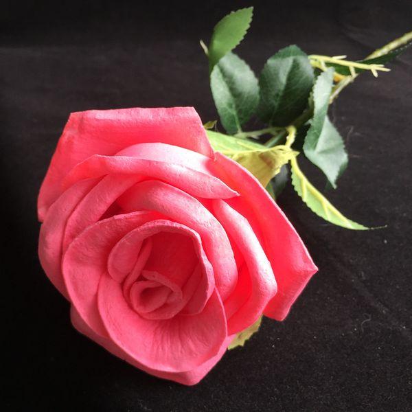60 cm de color rosa oscuro