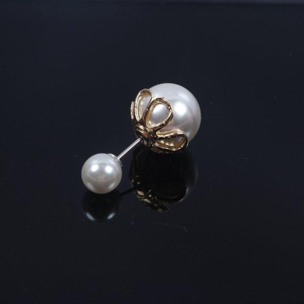 Pétales Longueur or 3.5cm1.6 Big Perles 1.