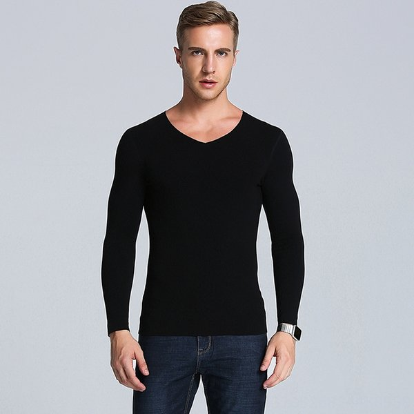 V-neck Top Pele-friendly Preto