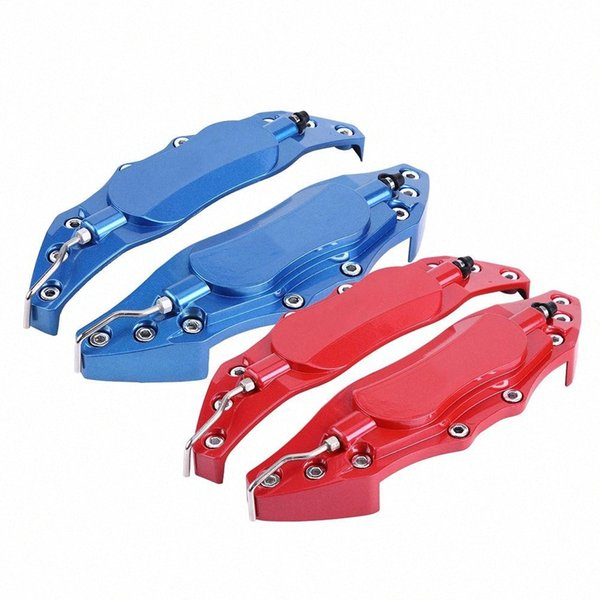 best selling 2pcs Car Aluminum Endless Brake Caliper Protector Cover for Wheel Hub 16in-17in Medium Car Accessories styling New 2zuh#
