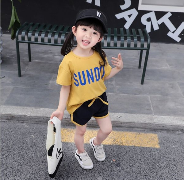 Sundy Suit Short Sleeve Yellow