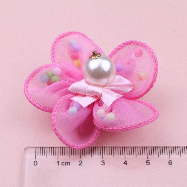 Dark Pink Colored Beads F4-6