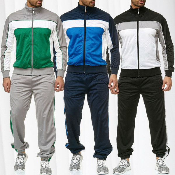 Tracksuits for Mens 2020 Autumn New Arrival Long Sleeve Sweatsuits Male Sport Active Striped Pattern Casual Fashion Clothing Hot Sale 2020 new arrival, we are the factory with the lowest price in the site.Welcome wholesalers to purchase, we will provide more discounts!Pls read the size chart carefully,if any quality problem u can ask for after-sales customer service!