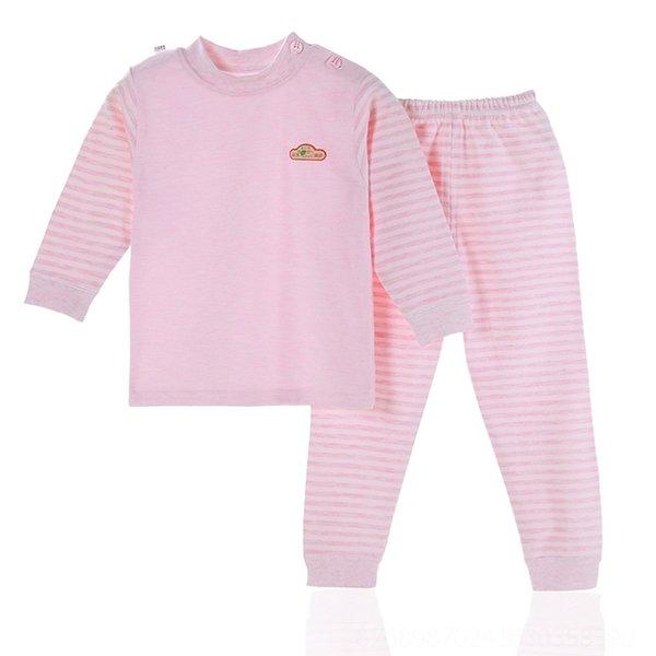 Colorato cotone rosa Label Petto