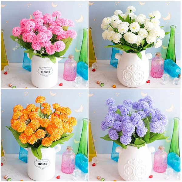 Artificial Silk Hydrangea High Quality Artificial Flowers Lavender Peony DIY Silk Flowers Bride Wedding Home Decoration Gifts