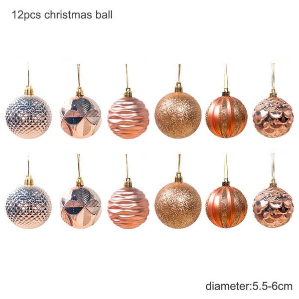 6cm oro Balls