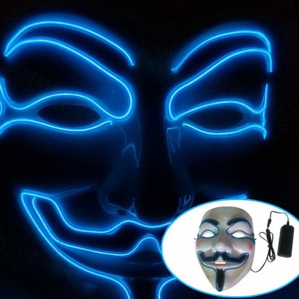 Голубая маска