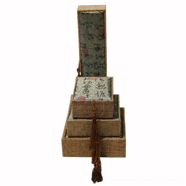 Superfície Verde Tassel-Gift Bag