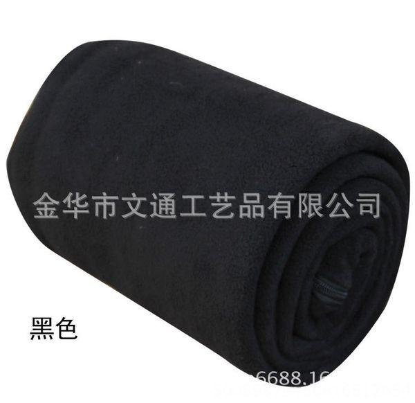 Black-Double-sided Fleece 180x80