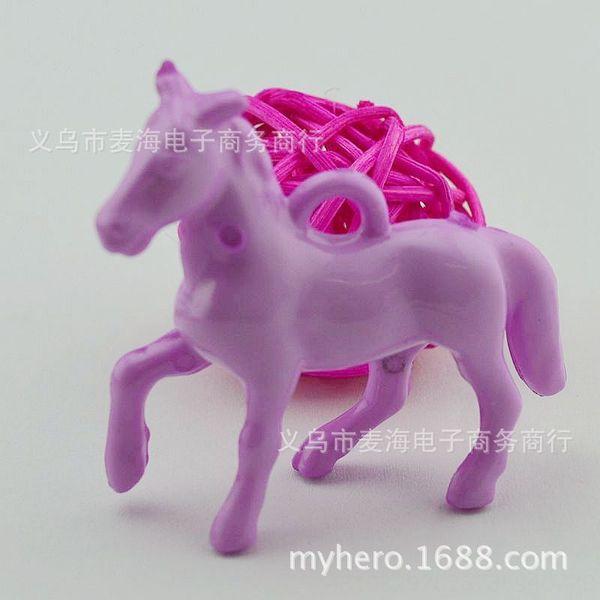 # 3 Red Light Purple-40 x 46 mm Pony
