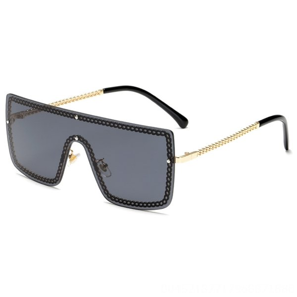 Gold Frame Schwarz Grau Scheibe