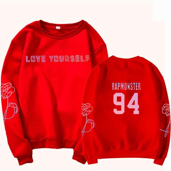 Sweat-shirt rouge 94