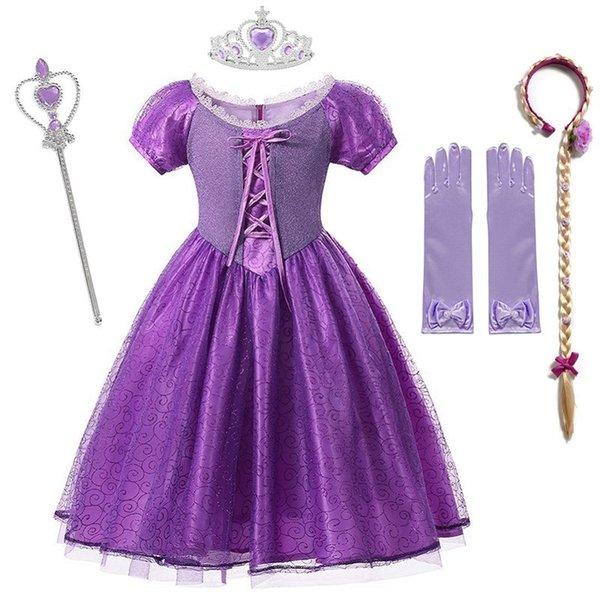 Rapunzel Kleid d