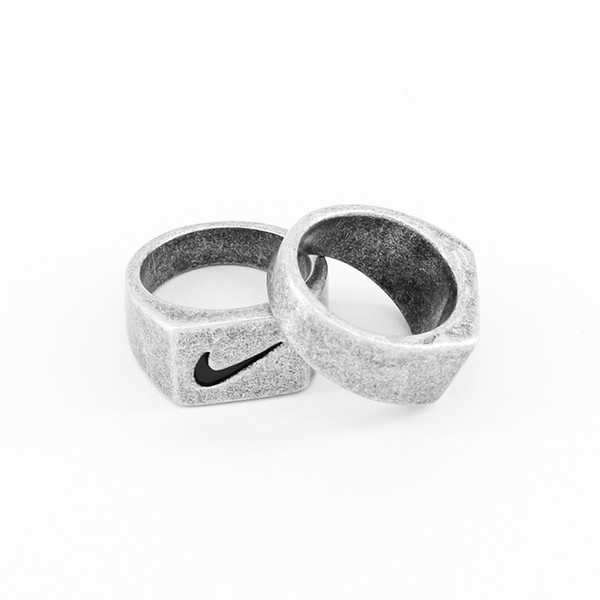 best selling 2020 new style 925 ring hiphop men and women personality simple fashion titanium steel ring holiday gift free shipping