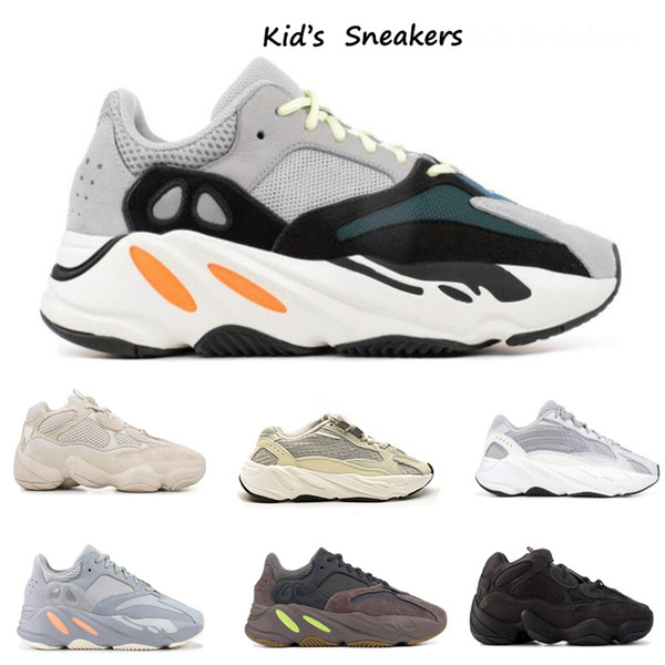 best selling New Kids Shoes West Wave Runner 7OO Girl Running Shoes 5OO Light Toddler Trainer Boy Sneakers Children Athletic Shoes Black Red