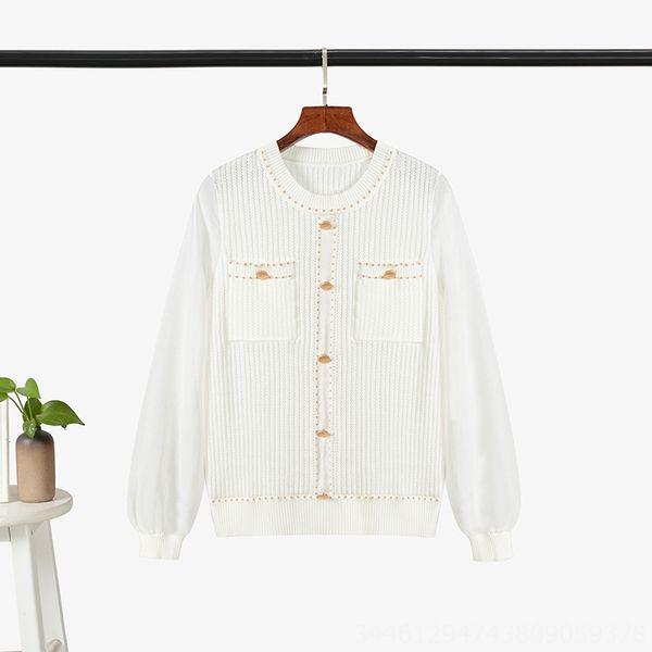 Weiß Einzel-Mantel