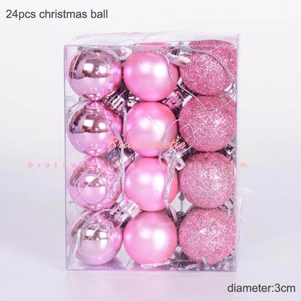 3cm rosa Balls