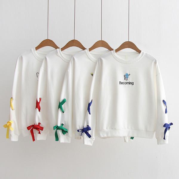 top popular Children Hoodies Sweatshirts White picture Lovely Cute Fashion Cool comfortbale White Orange 2021