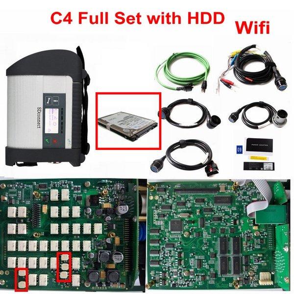 C4 FULL SET avec disque dur