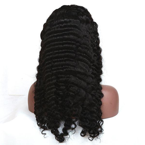 Derin dalga insan saçı