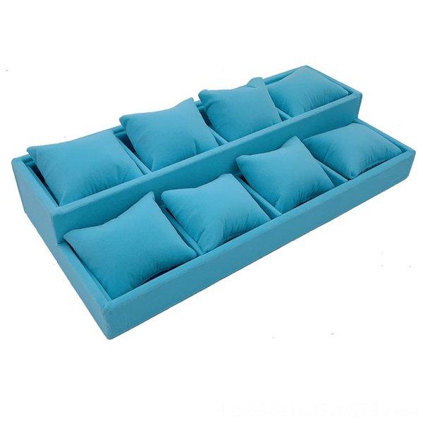 Deux couches bleu clair longueur x largeur 34x2