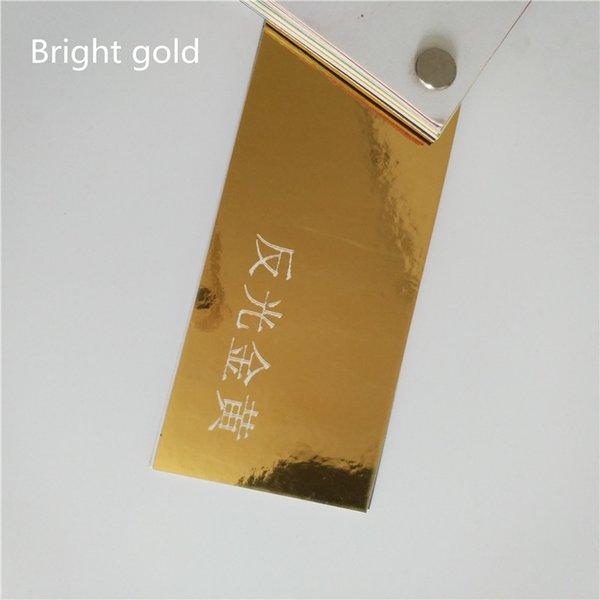 яркий золотой