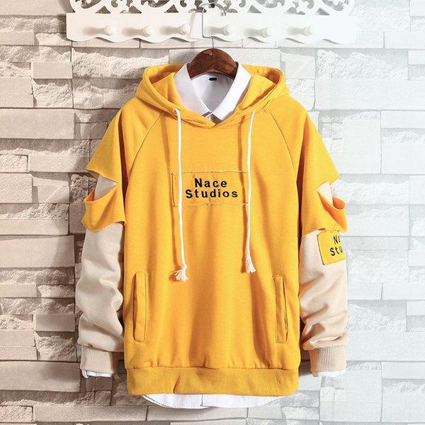 Y46 Pull jaune