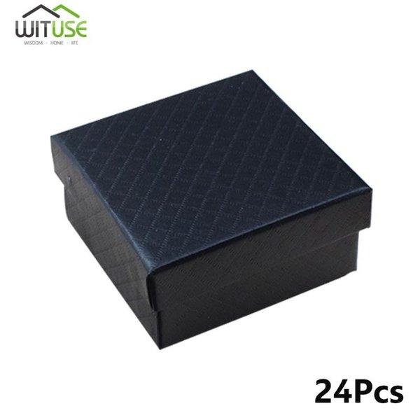 Black 7.5x7.5x3.5cm
