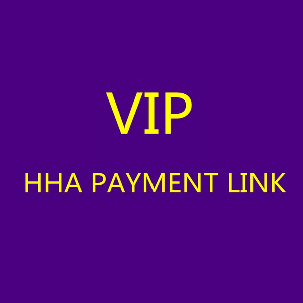 best selling HHA VIP Payment Link Only Use for Specific Payment Customize Item Brand Items Payment Links LJJH-VIP