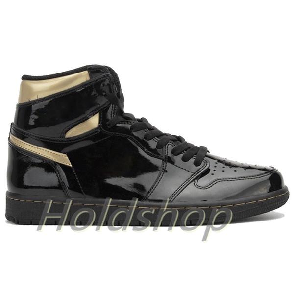 1s-Black Metallic Gold