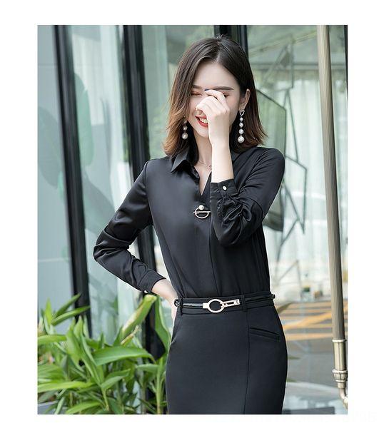 Shirt Одноместный черный с длинным рукавом
