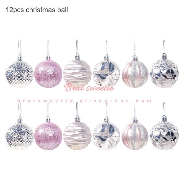 6cm Rosa Balls