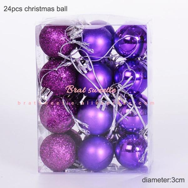 3cm viola Balls