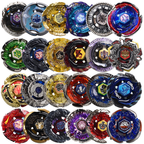top popular 57 MODELS Constellation Beyblade Metal Bey Blade Fusion NO Launcher Classic Toys For Children Set Spinning Top Kit Fighting Gyro Gifts 2020