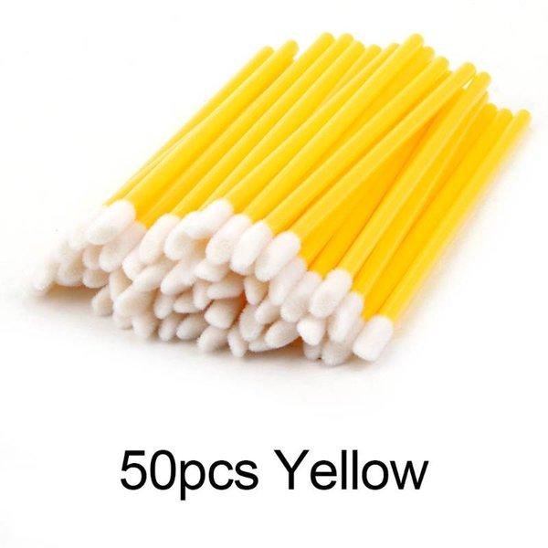 50pcs jaunes