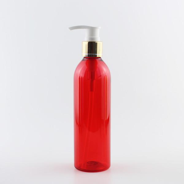 250мл Красные бутылки ПЭТ Белого