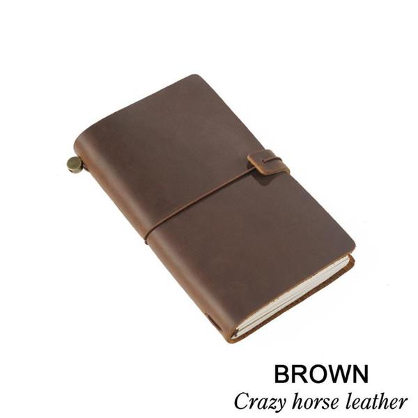 브라운 A5 크기 22x15.5cm