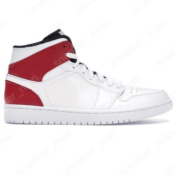 8 Mid Bianco Nero Rosso Palestra 36-46