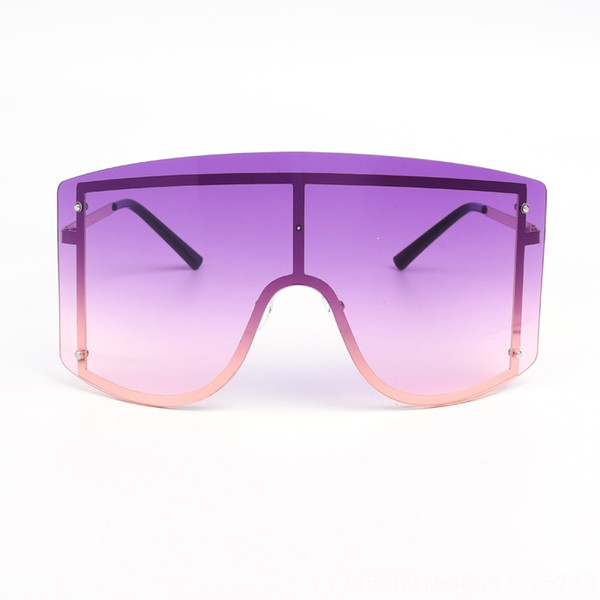 Gold Frame Double Purple Slice