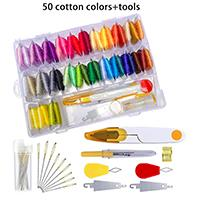 50 cootons+tools