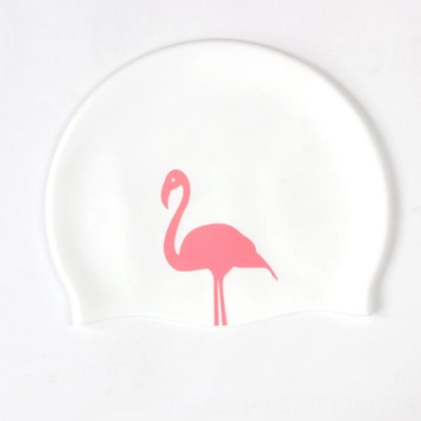 Flamingo with White Background