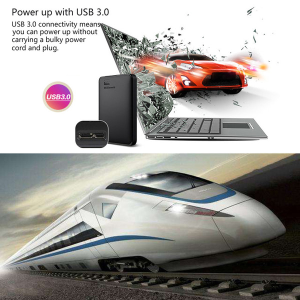 best selling Freeshipping 500GB Portable External Hard Drive Disk USB 3.0 HD HDD Capacity SATA Storage Device Original for Computer PC PS4 T